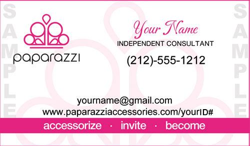 Gallery For Paparazzi Consultant Business Cards